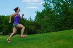 Run in the Park (Arthur Ward) Tags: workout fitness amandaruller