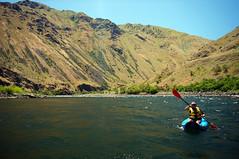 Kayaking (nomad_soul) Tags: cambridge white water june river us unitedstates snake sony canyon idaho rafting hells 2013 nex6 selp1650