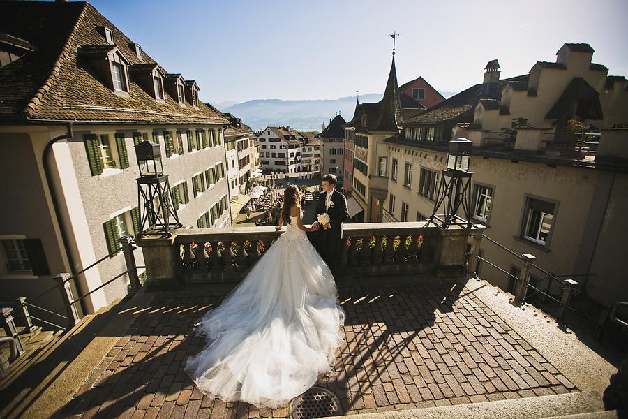 свадьба в швейцарии