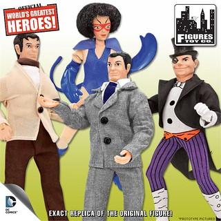 Figures Toy Company 超療愈 8 吋 蝙蝠俠漫畫版吊卡玩具 第二彈