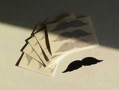 Vinyl Decal (made by mauk) Tags: vinyl mustache decals madebymauk maukrulz