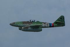 20130615-ME262-581.jpg (Glenn Courtney) Tags: ontario airplane aircraft hamilton airshow warbird warplane on luftwaffe me262