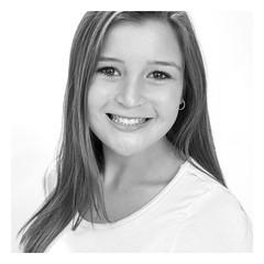 lauren2 (blaneyphoto.) Tags: girl smile port headshot whitebackground teen teenager studioshot youngadult youngwoman teenagegirl