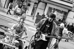 Streets of San Francisco (Slobodan Miskovic) Tags: sanfrancisco california street blackandwhite music rock square blackwhite union unionsquare rockandroll