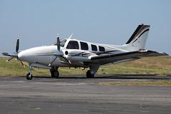 2013-07-19-008FD N65MJ (BringBackEGDG) Tags: beechcraft beech baron trevellas perranporth pressurized 58p n65mj