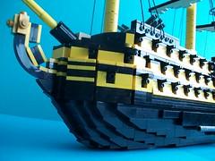 HMS Victory (TechnicNick) Tags: boat ship lego nelson victory hms