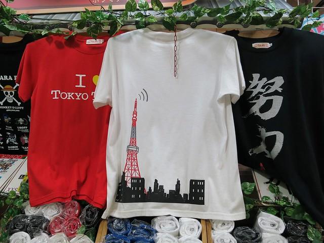 東京タワーのTシャツ発見。 東京タワー