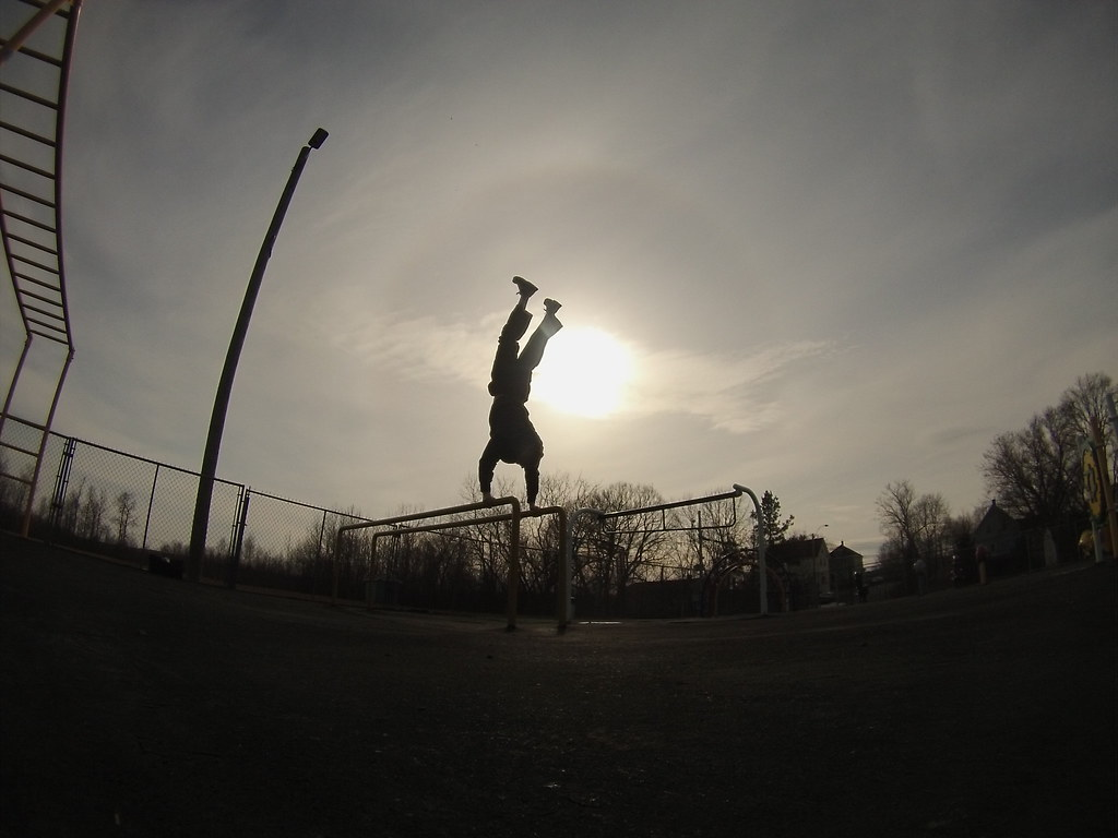 Bars Handstand Jeremy BeachBum Tags Fun Athletic Fitness Calisthenics