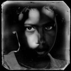 Reality is not fiction (Giovanni Savino Photography) Tags: fiction shadow portrait sun sunlight face dominican shadows dominicanrepublic reality tintype younggirl magneticart giovannisavino