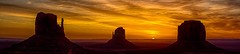 sunrise at Monument Valley - explore # 1 (Marvin Bredel) Tags: morning arizona clouds sunrise spectacular landscape utah bravo indian explore nativeamerican redrocks navajo monumentvalley americanindian oldwest americansouthwest coloradoplateau canoneos60d marvinbredel