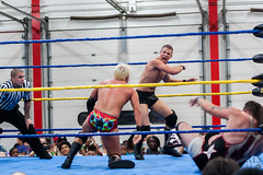 VALOR Pro Wrestling Aug'2013 - 120 (Chris Adval) Tags: lighting chris light red evan mars usa rose canon fire photography corporate rebel team shoot nemo natural leo pennsylvania wrestling tag lion andrew valentine scorpion company indoors pa adobe julio destiny da luv ambient pro bobby match inside adrian axel eddie 28 van title sawyer dslr bliss miss tamron edith productions punishment 70200 lu xsi nightmares lightroom lennox amt fedup sheilds mrbet tutone gunnaz backlund tasel adval lightroom4 valorprowrestling bobbythebodysheilds