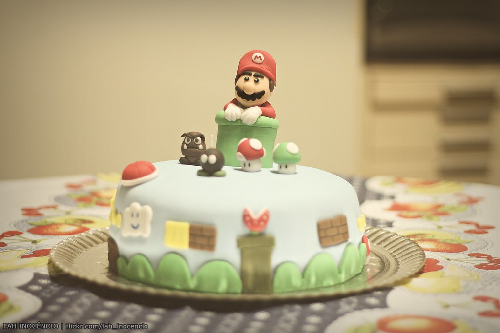 The World\'s Best Photos of cake and supermario - Flickr Hive Mind