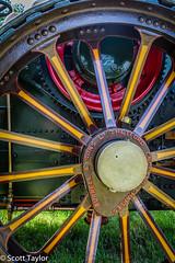Traction Engine Wheel (Scrufftie) Tags: uk england canon unitedkingdom chilterns buckinghamshire steam prestwood lightroom steamrally canonef24105mmf4lisusm canon5dmkii