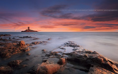 Sunset to the Cap Dramont #14 ~ Var / France ~ (Yannick Lefevre) Tags: longexposure light sunset seascape france photoshop landscape nikon rocks cotedazur raw nef tripod paca filter provence paysage dri var manfrotto rockscape frenchriviera d300 nd400 poselongue nikoncapturenx iledor nikkor1224mmf4 52week ndx400 ledramont capturenx2 yllogo ©yannicklefevre||photography filtrendhoya 52week38
