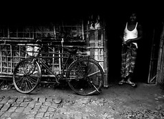 untitled (upam_sakib) Tags: bw bicycle p mechanic bangladesh chittagong upamsakib