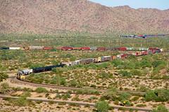 UP 8348 at Shawmut, AZ (nsmith8853- I'm tired of shootings GE's!) Tags: railroad arizona up train pacific union railway az trains siding railfan freight emd shawmut sd70ace