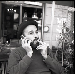 (Max Miedinger) Tags: blackandwhite film blackwhite milano agfa cassette ilford bianconero biancoenero navigli optima xtol pellicola isorapid