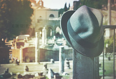 as  time goes by (TIBBA69) Tags: street old hat canon vintage strada colours bokeh retro colori cappello sfuocato astimegoesby andreatiberini
