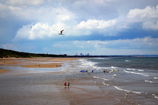 from Saltburn pier to South Gare
