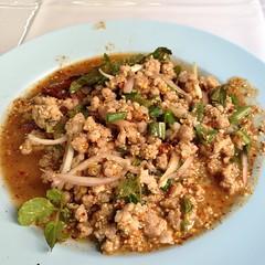 ลาบหมู | Spicy Minced Pork Salad @ นะโม โอปอ | Namo Opor