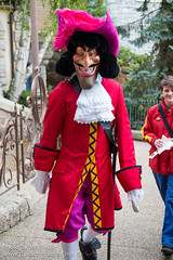 DLP Oct 2013 - The villains coming out to play in Fantasyland
