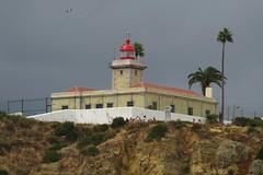 Ponta da Piedade Light (Larry Myhre) Tags: lighthouse portugal lagos farol pontadapiedade