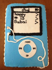 iPod cake, Triad, NC, www.birthdaycakes4free.com