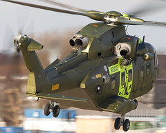 Merlin (Bernie Condon) Tags: rescue denmark aircraft aviation helicopter danish merlin westland sar yeovilton rnas