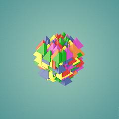 *** (eduard lefler) Tags: triangle pyramid cinema4d c4d tetra everyday tetrahedron