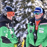 Martin Grasic (athlete), Nick Cooper - BC Team coaches on the job at Sun Peaks PHOTO CREDIT: Gordie Bowles