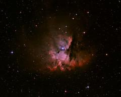 NGC281 (The Packman Nebula) - Reprocessed (JRG Astroimages) Tags: ngc nebula deepspace packman nebulae 281 deepsky ngc281 astrometrydotnet:status=solved vision:sunset=0634 vision:sky=0714 vision:dark=0546 vision:outdoor=0832 vision:plant=0719 astrometrydotnet:id=nova159123