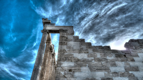 Erechtheion Part, Acropolis, Athens, Greece