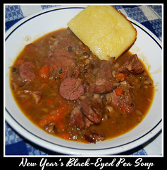 New Year's black-eyed pea soup (foxie1125) Tags: soup newyear blackeyedpeas
