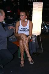 sexy girl (themax2) Tags: motorbikeexpo verona 2009 girls motor bike expo promotora каблуки heel edecan legs highheels