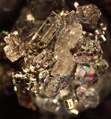 Microscopic Jewels (hessamt) Tags: macro closeup frost microscope gem jewel icecrystals crossedpolarizers frozenblueberries canoneos5dmarkii canon65mmf28mpe