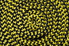 yallow-black-spiral (Peter_Franz) Tags: macro spiral m42 shoestring gelbschwarz kordel mixedcolor spierale zeiss50mmmacro yallowblack