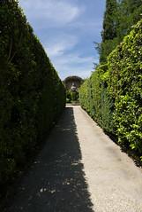 She's in my sights (Linus Wrn) Tags: italy garden tivoli path unesco lane artemis lazio hedges villadeste leicadlux5