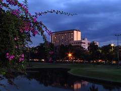 manila hotel (explore) (DOLCEVITALUX) Tags: night hotel dusk philippines manila manilahotel canonpowershotsx50hs
