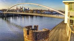 Maastricht, maas, hoge brug,HDR (loungerrob) Tags: maastricht brug maas hoge