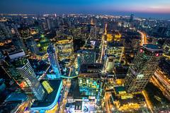 mini city ver.2.jpg (Danny.Hu) Tags: city building night skyscraper canon downtown shanghai cbd elevated