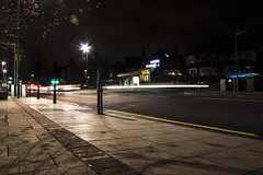 Headingley at Night (Saturated Imagery) Tags: night lights traffic leeds lighttrails dslr headingley canonefs1855mmf3556 canoneos1000d