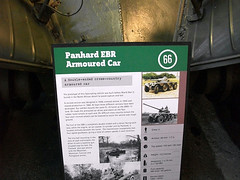 """Panhard EBR Armoured Car (3) • <a style=""""font-size:0.8em;"""" href=""""http://www.flickr.com/photos/81723459@N04/12461561914/"""" target=""""_blank"""">View on Flickr</a>"""