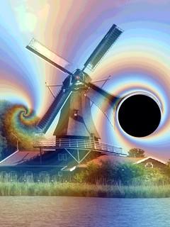 #CrazyCamera black hole windmill