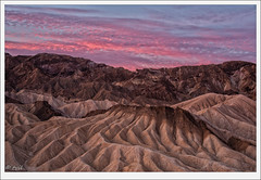 Pink Dawn (tyil.pics) Tags: pink mountain clouds sunrise dawn nationalpark deathvalley zabriskiepoint nikond800e