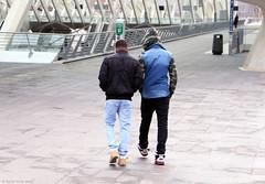 The Blues (Rick & Bart) Tags: boy people male men rain station architecture belgique candid strangers streetphotography belgi guys menschen trainstation personnes regen luik santiagocalatrava architectuur lige mensen everydaypeople lemins lttich rickbart rickvink
