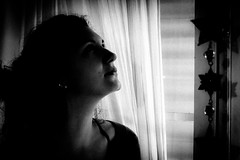 (stars`bread) Tags: portrait people blackandwhite woman girl stars donna shadows noiretblanc femme ombre fille ritratto biancoenero étoiles júlia ragazza stelle canoneos1000d