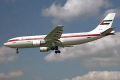 A6-SHZ U.A.E. Government A300B4-620 Heathrow in 1999 (Tu154Dave) Tags: dubai heathrow uae airbus government unitedarabemirates lhr a300 a6shz a300b4620