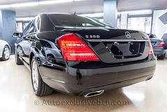 Mercedes S 350 BT - Negro Obsidiana - Piel Beige