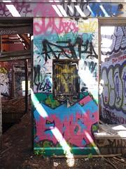 sgs17 (daily observer) Tags: abandonedtrainstation graffiti urbanruins philadelphia abandoned abandonedphiladelphia philadelphiagraffiti