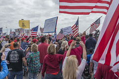 MAGA March HB CA (shottwokill) Tags: events magamarch trumpmarch california huntingtonbeach orangecounty political makeamericagreatagain nikon d800 crowd america americanflags patriot protesters